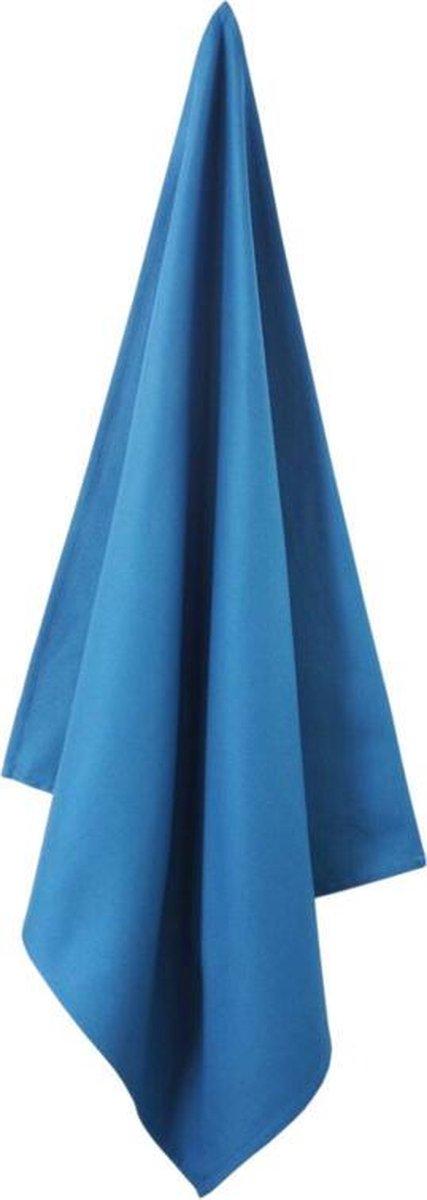 Elias theedoek Solid Blue (65 x 65 cm) - Elias