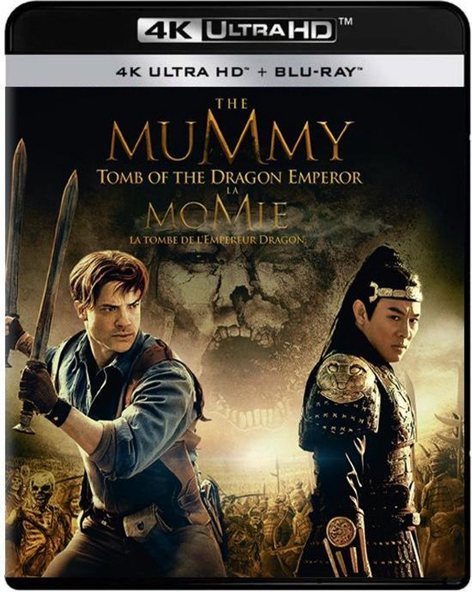 The Mummy: Tomb of the Dragon Emperor (4K Ultra HD Blu-ray)-