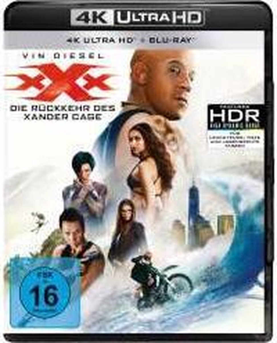 xXx : Return of Xander Cage (2016) (Ultra HD Blu-ray & Blu-ray)-