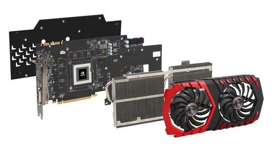 MSI GeForce GTX 1080 Ti Gaming X 11GB - MSI