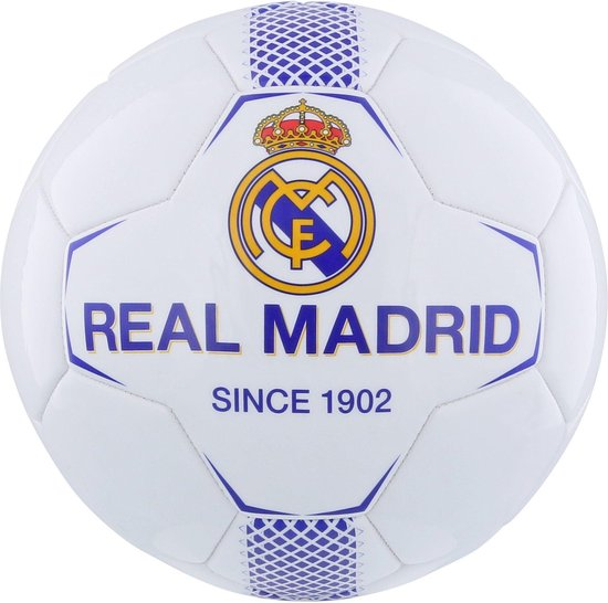 Real Madrid Voetbal - Maat 5 - Wit