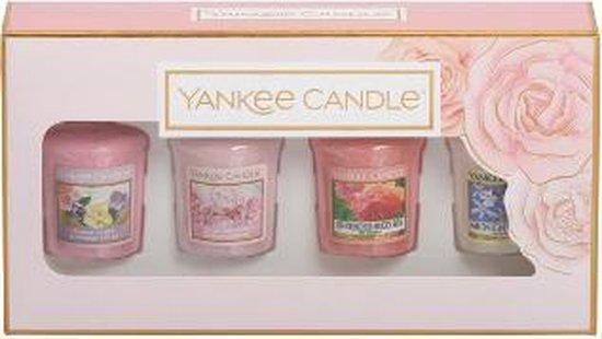Yankee Candle Geschenkset Geurkaarsen – Diverse Geuren – 4 Stuks