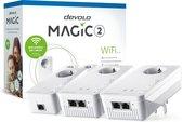 devolo Magic 2 wifi - Wifi Powerline - Multiroom wifi kit - 3 stuks - NL