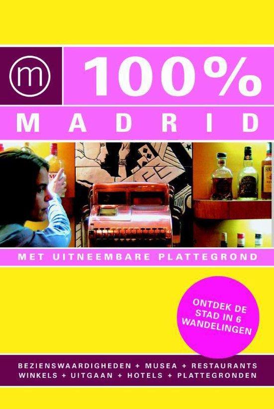 Cover van het boek '100% Madrid' van B. Skrzypczak