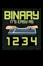 Binary It's Easy As 1 2 3 4