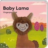 Vingerpopboekje Baby Lama