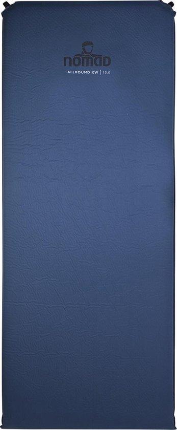 NOMAD Allround XW 10.0 - Slaapmat -198 x 76 x 10 - Donker blauw