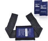 E Shoppr® Kwalitatieve Koud Warmte Compressie Met Wrap - Ice Pack (2-delige set) - Herbruikbare Warmte en Koude Therapie Gel Wrap - Warmte kussen & Cool Pack - Voor Blessures