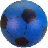 Foam soft voetbal blauw 20 cm