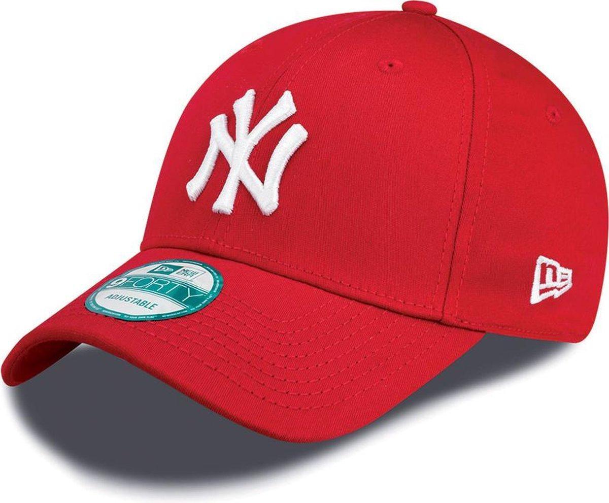 New Era 940 LEAG BASIC New York Yankees Cap - Red - One size