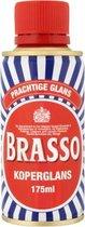 Brasso Koperglans voorheen koperpoets 175 ml 2 flesjes