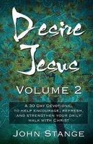Boek cover Desire Jesus, Volume 2 van John Stange