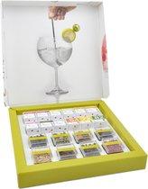 Partybox Te Tonic 24 infusions en 8 Botanicals voor Gin & Tonic cocktails te mixen. Kruiden zijn speciaal geselecteerd voor Gin