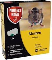 Express Lokdoos tegen muizen Twee lokdoosjes verpakking