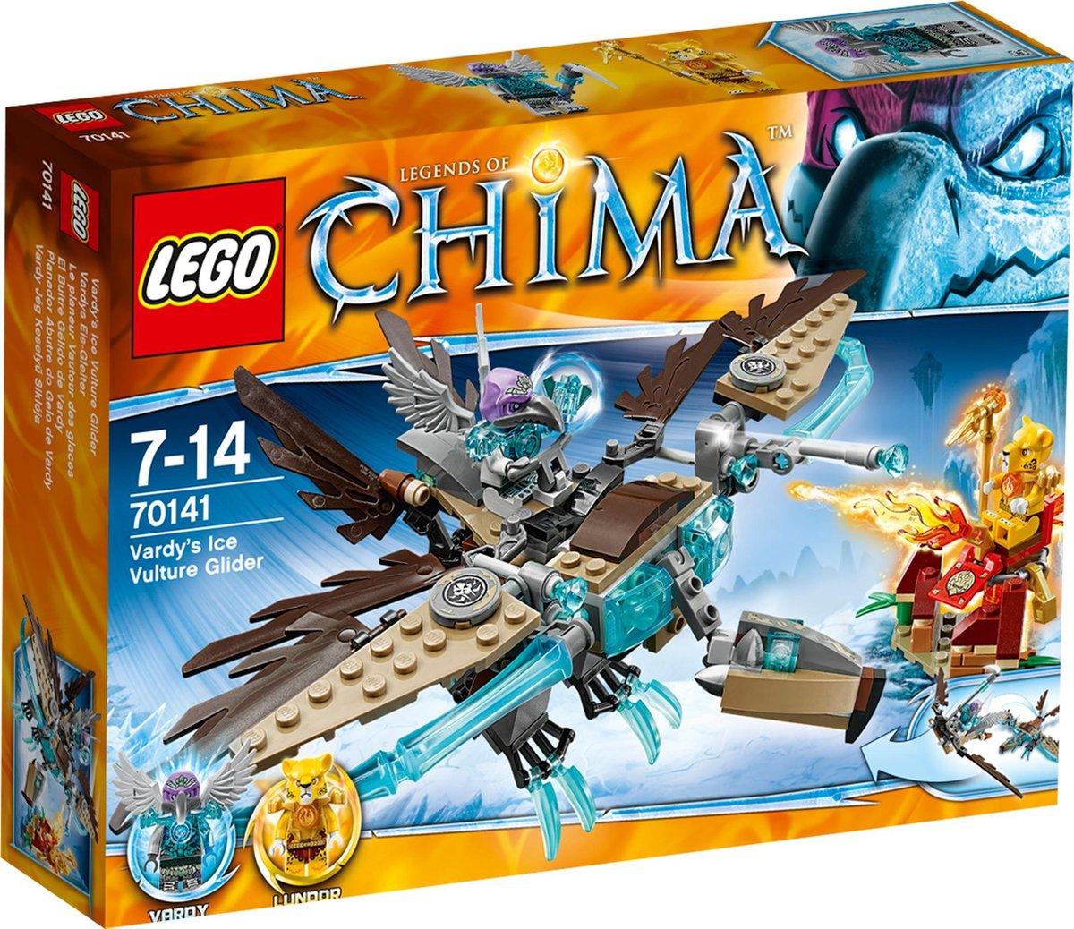 LEGO Chima Vardy?s IJszweefvlieger - 70141