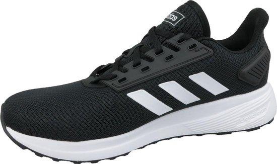 adidas Duramo 9 Heren Sneakers - Core Black/Ftwr White - Maat 46 2/3