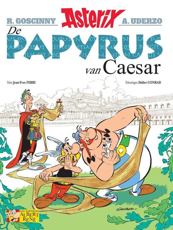 Boek cover Asterix 36. De papyrus van Caesar van Didier Conrad (Paperback)