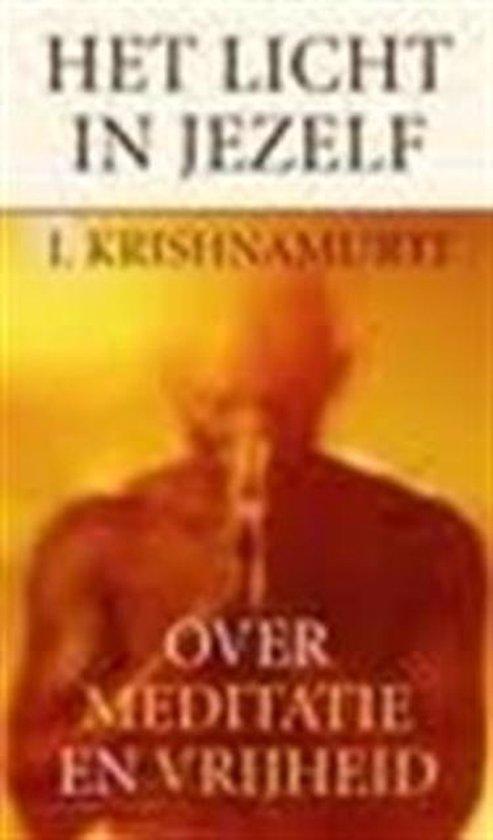 Het licht in jezelf - Jiddu Krishnamurti |