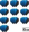 Afbeelding van het spelletje 10 - Sets XS100 Curve 100 micron flights - Aqua