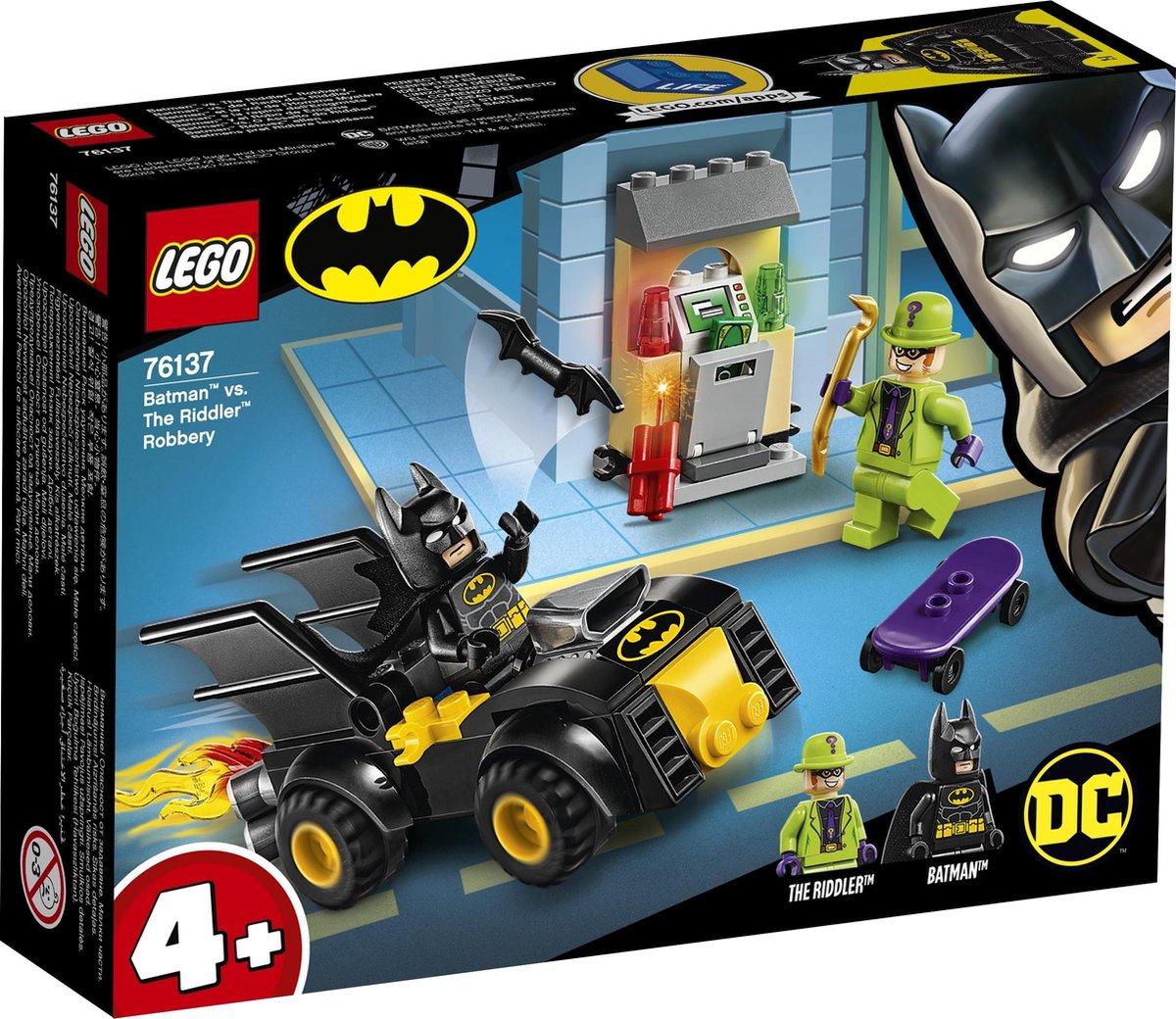 LEGO 4+ Batman vs. de Roof van The Riddler 76137