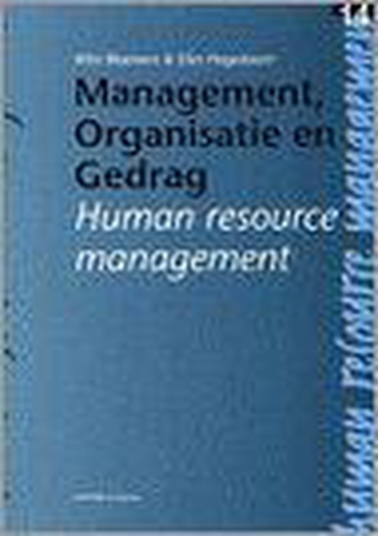 Human resource management - W. Bloemers pdf epub