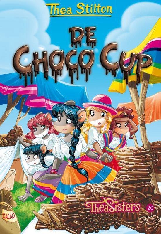 Thea Stilton 20 - De Choco Cup (met bakvorm) - Thea Stilton | Readingchampions.org.uk