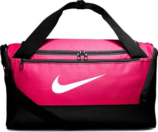Nike  Brsla S Duff - 9.0 Unisex Sporttas - Rush Pink/Black/(White) - Maat OSFA