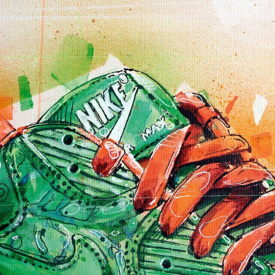 Nike Air Max 90 x Patta homegrown print (70x50cm)
