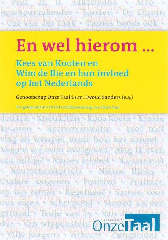 Boek cover En Wel Hierom ... van nvt (Paperback)