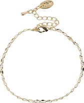Jozemiek ONE DAY Charity Armband Plated  14K Goud verguld - Cloud wit