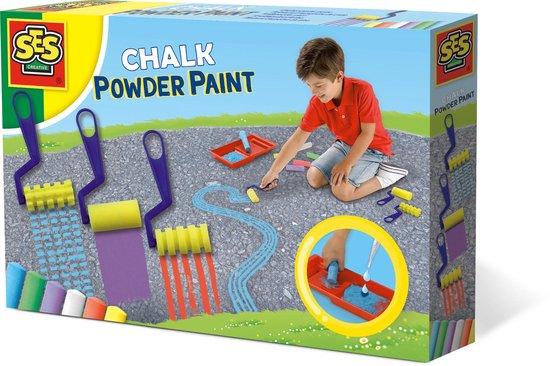 SES Stoepkrijt poederverf - knutselen - chalk powder paint