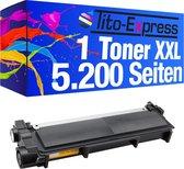 PlatinumSerie® 1 toner Mega XXL alternatief voor Brother TN-2320 black 5.200