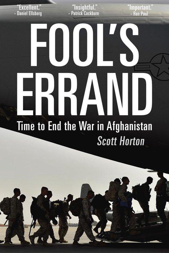 Boek cover Fools Errand van Scott Horton