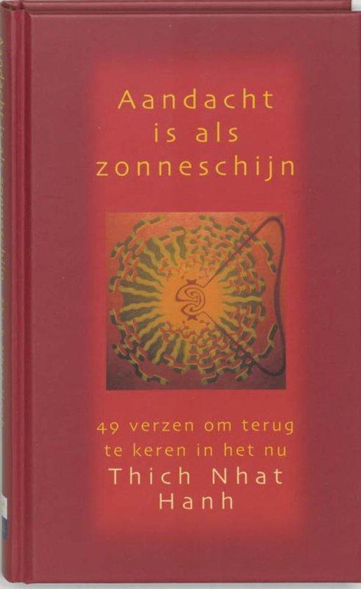 Cover van het boek 'Aandacht is als zonneschijn'