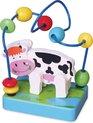 Afbeelding van het spelletje Viga Toys - Mini Kralenframe - Koe