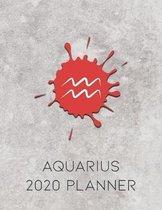 Aquarius 2020 Planner
