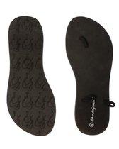 Bandajanas slippers, laag, zwart