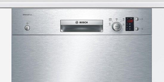 Bosch SMU25AS00E Serie 2 - Onderbouw vaatwasser - RVS