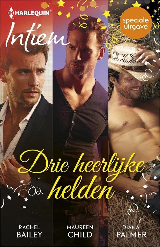 Harlequin- Drie heerlijke helden (3-in-1) - Rachel Bailey |