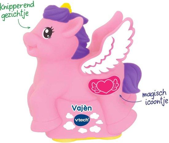 VTech Zoef Zoef Dieren - De Vliegende Eenhoorn Vajen - Speelfiguur - Interactief Babyspeelgoed