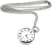Kettinghorloge - Klassiek Horloge aan ketting - Dameshorloge