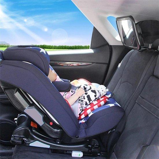 Afbeelding van Autospiegel Baby Verstelbaar - Achterbank Spiegel Baby - Achteruitkijkspiegel XL - Baby Spiegel Auto