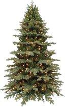 Triumph Tree kunstkerstboom met led sherwood maat in cm: 600 x 284 groen met 3728 warmwitte led lampjes