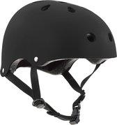 SFR Essentials Skate/BMX helm Sporthelm - UnisexKinderen en volwassenen - zwart Maat S/M: 53-56cm