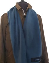 Bluvardi- Antipilling Fleece Sjaal - Blue Petrol