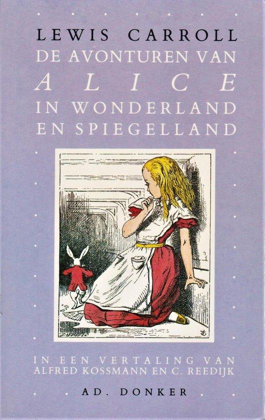 AVONTUREN VAN ALICE IN WONDERLAND EN SPIEGELLAND - Lewis Carroll   Fthsonline.com