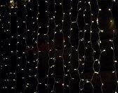 Specilights LED Lichtgordijn - 3 x 3 meter - Met stekker - 304 lampen - Extra warm wit - 8 standen - Waterdicht - Koppelbaar