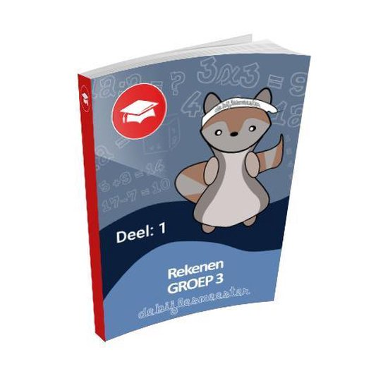 Oefenboek Groep 3 Rekenen - Deel 1 - De Bijlesmeester |