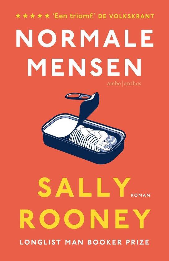 Boek cover Normale mensen van Sally Rooney (Paperback)