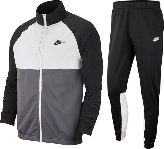 Bol Com Nike Trainingspak Maat Xl Mannen Zwart Wit Grijs